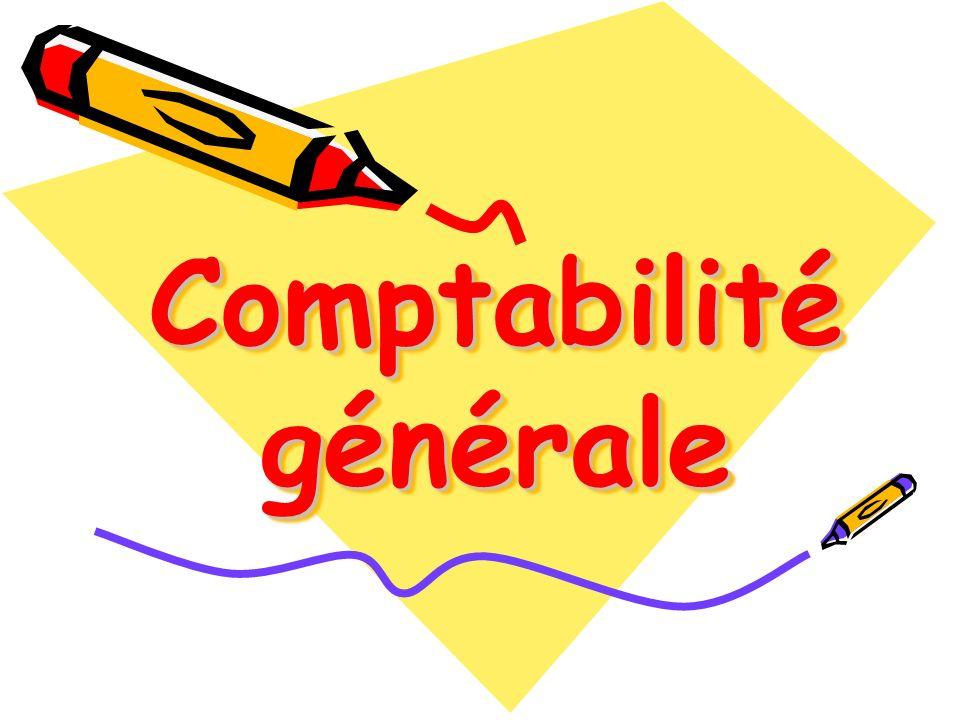 PLAN COMPTABLE GENERAL : DEFINITION ET FONCTIONNEMENT DES COMPTES-CLASSE 3-